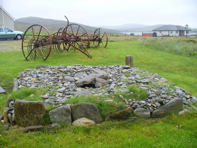 Pictish Burial Cairn, Kildonan