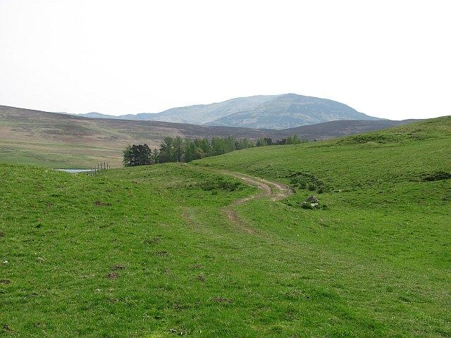 Track to Loch Moraig