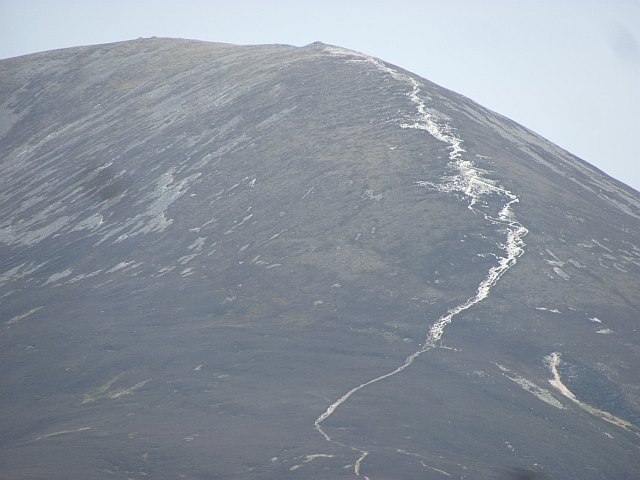 The infamous path up Carn Liath