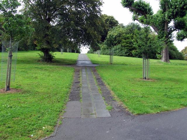 Path in Victoria Park