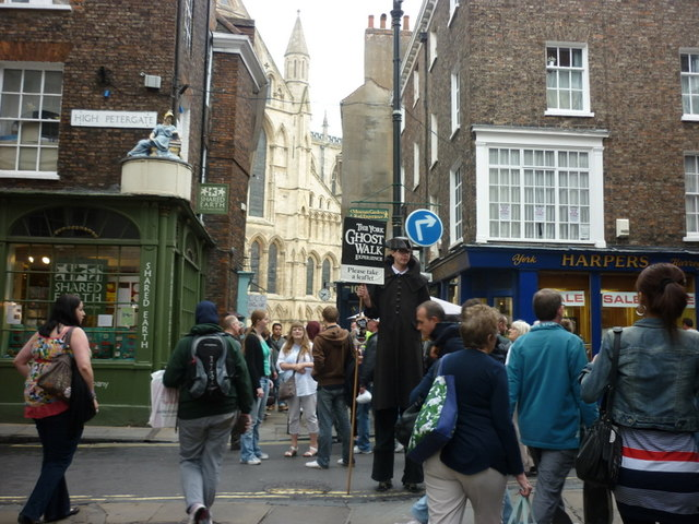 Stonegate at High Petergate, York
