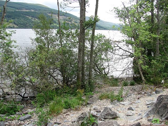 Shore of Loch Tay