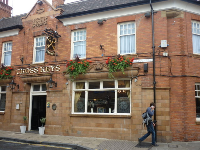 The Cross Keys on Goodramgate, York