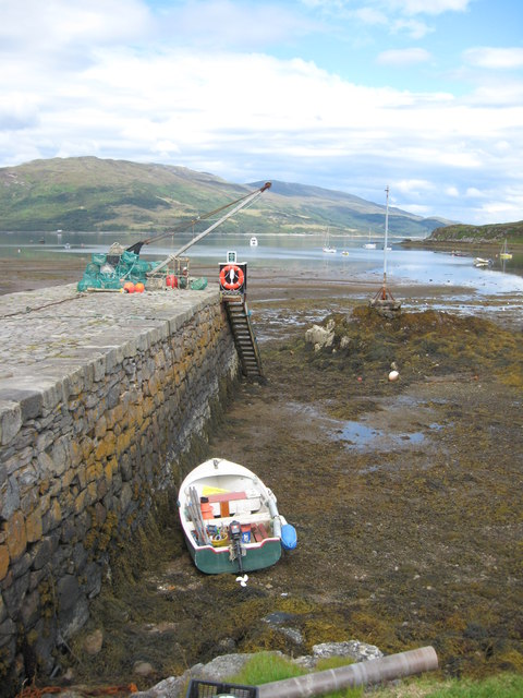 Low tide at Isleornsay