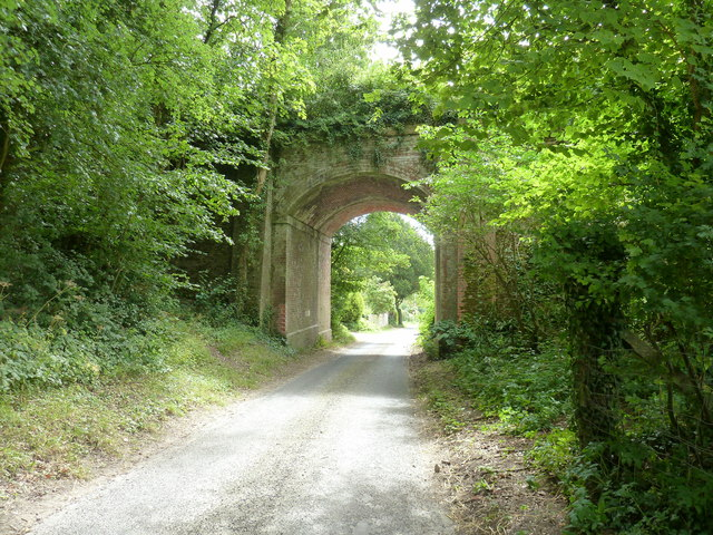 Railway bridge that carried the former Chichester to Midhurst line