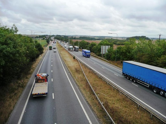 Traffic on the A1