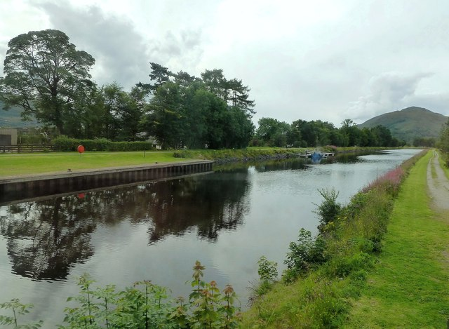 Crossing the Caledonian Canal