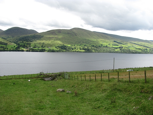 Farmland above Loch Tay
