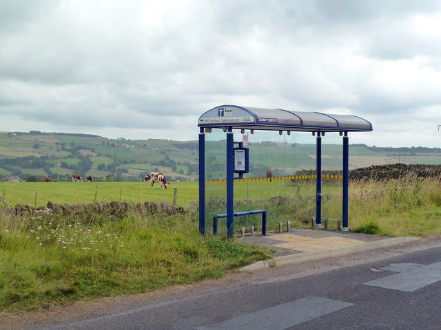 Bus shelter at Hill Top
