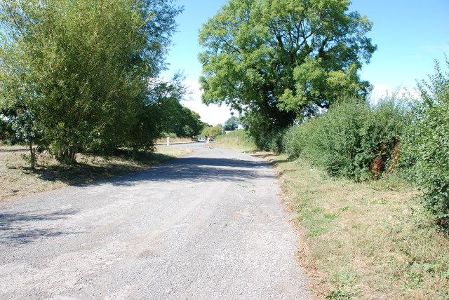 Looking from Lay by to the A518