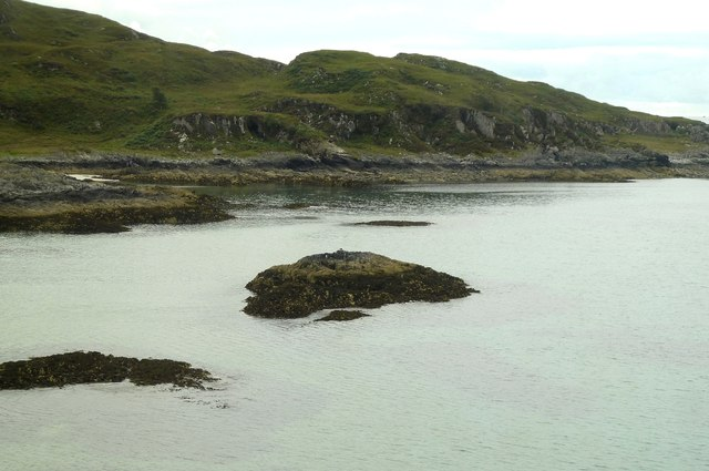 Glasnacardoch Bay