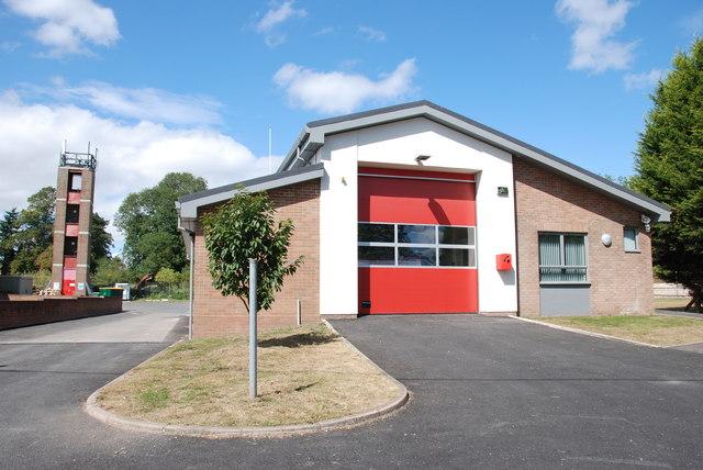 Gnosall Fire Station, Gnosall Heath