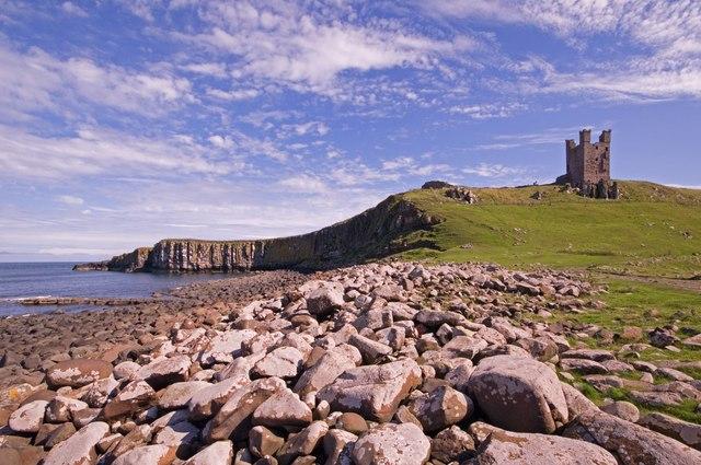 Castle Point and Dunstanburgh Castle