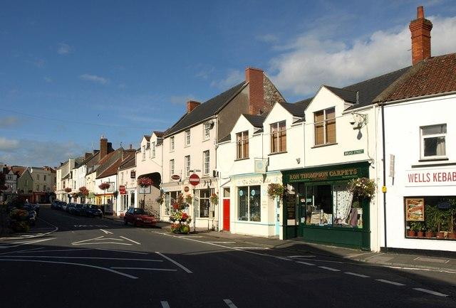 Broad Street, Wells