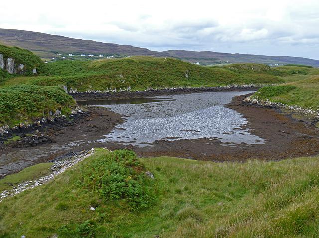Tidal inlet on Eilean Mòr