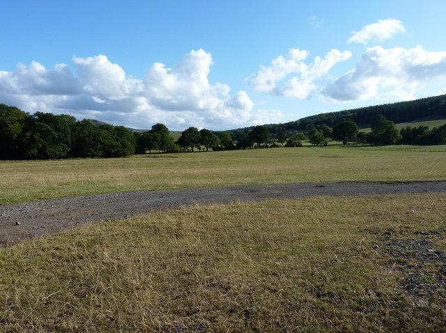 Farmland west of Habberley