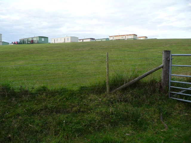 Part of Penlanymor Caravan Park