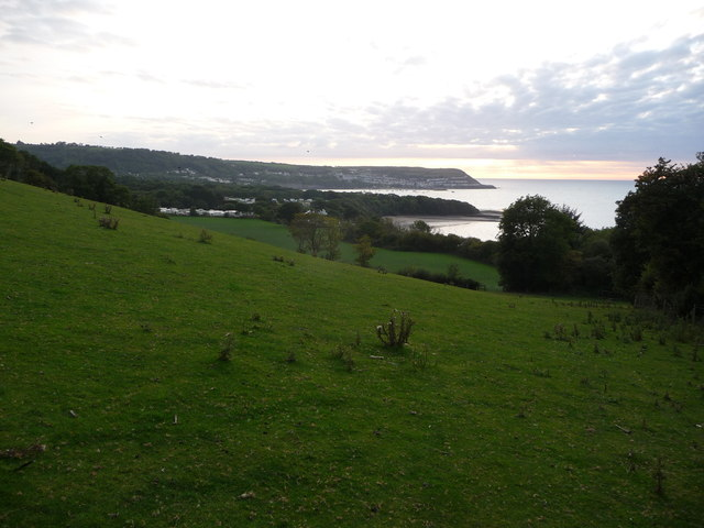 View over Cei-bach to New Quay