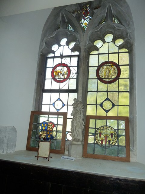 Churchyard of the Assumption of the Blessed Virgin Mary Upper Froyle- church window (7)