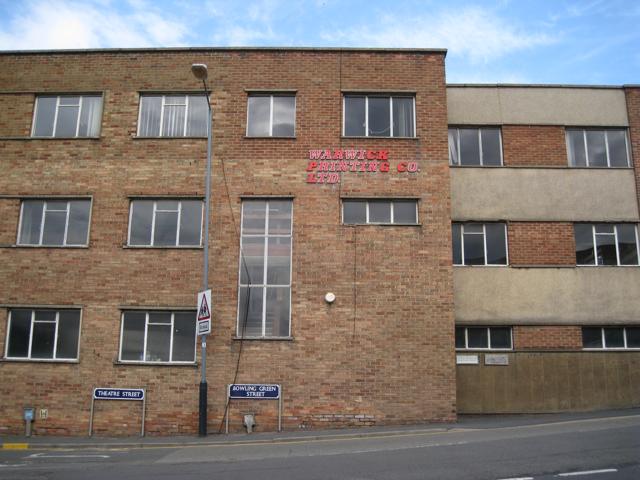 Warwick Printing Company's old works