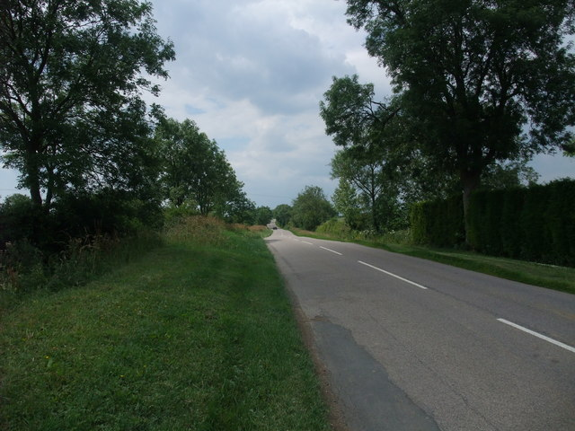 Shearsby Road west of Saddington
