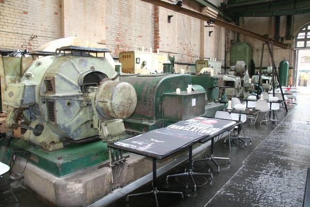 London Hydraulic Power Company, Wapping Pumping Station - machinery