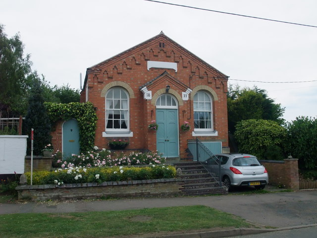 Former chapel, Willoughby Waterleys