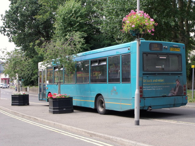 Number 33 bus at Hassocks