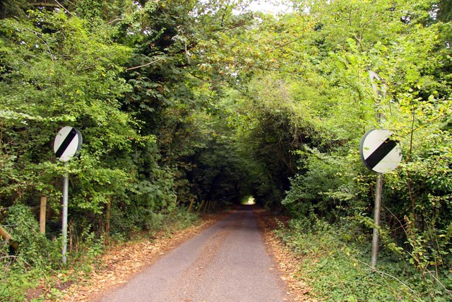 The road to Tubney church