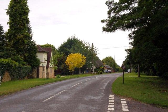 Abingdon Road in Tubney