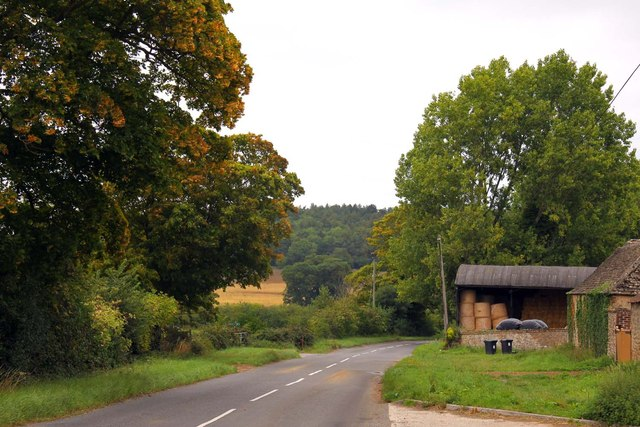 The B4019 by Colleymore Farm