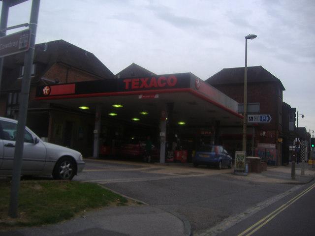 Texaco service station, Midhurst