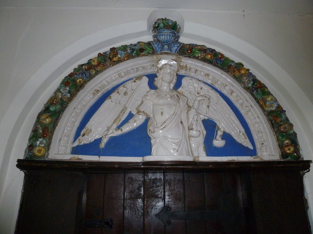 Church of the Assumption of the Blessed Virgin Mary Upper Froyle- ceramic artwork