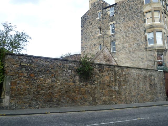 Part of the Telfer Wall, Lauriston Place