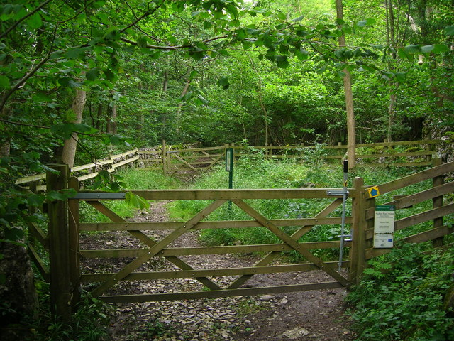 Entrance to Hutton Roof Crags nature reserve
