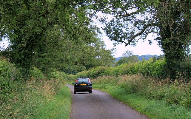 2011 : Brottens Road looking west