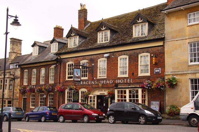 The Saracens Head Hotel on High Street