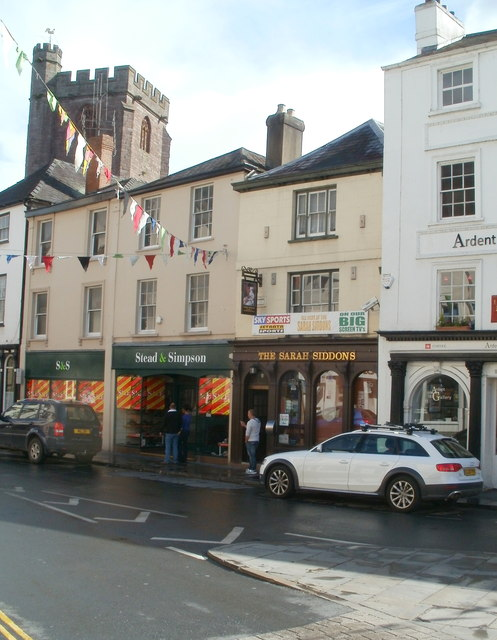 Stead & Simpson and The Sarah Siddons, Brecon