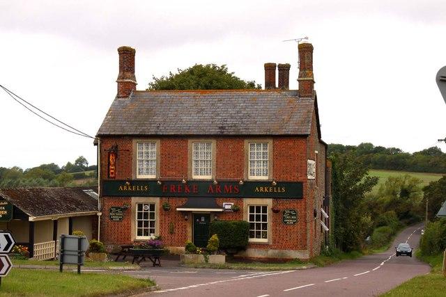 The Freke Arms at Swanborough