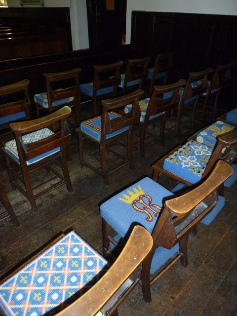 Church of the Assumption of the Blessed Virgin Mary Upper Froyle- chairs