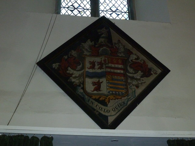 Church of the Assumption of the Blessed Virgin Mary Upper Froyle- hatchment (2)