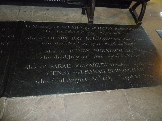 Church of the Assumption of the Blessed Virgin Mary Upper Froyle- ledger slab (6)
