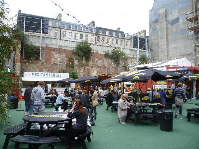 Urban Garden during the Festival
