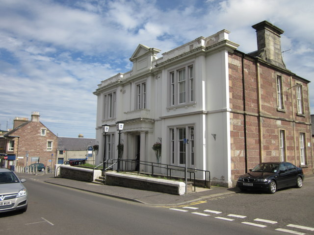 Council Office and Library, Blairgowrie