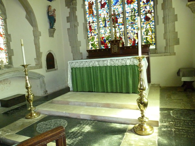 Church of the Assumption of the Blessed Virgin Mary Upper Froyle- altar canons