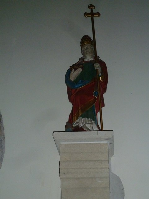 Church of the Assumption of the Blessed Virgin Mary Upper Froyle- statue