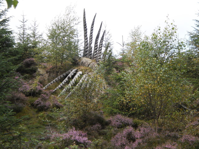"""""""Fethersaurus"""" in Grizedale Forest"""