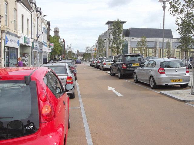 De-Pedestrianisation Manchester Road, Nelson, Lancashire