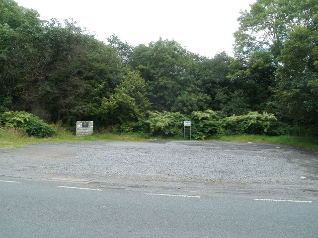 Site of the demolished Capel Ty'nycoed vestry, Brecon Road,Ynyswen