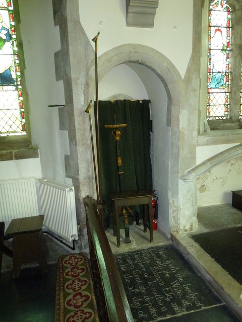 Church of the Assumption of the Blessed Virgin Mary Upper Froyle- communion rail